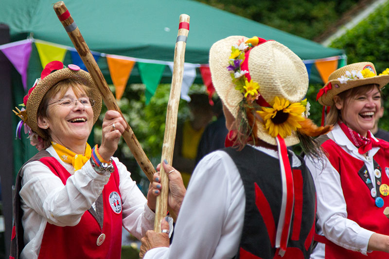 Swanley Therapy Centre Morris Dancers